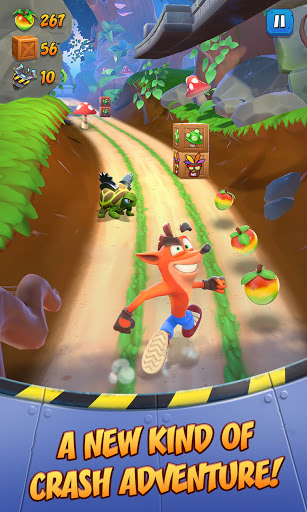 Crash Bandicoot: On the Run! screenshots 1
