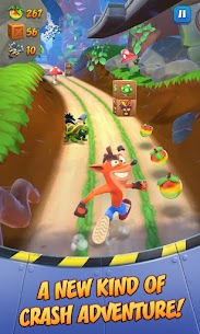 Crash Bandicoot: On the Run! (MOD, Unlimited Money) For Android 1