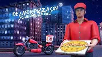 Big Pizza Delivery Boy Simulator