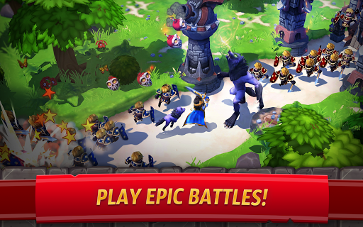Royal Revolt 2: Tower Defense RTS & Castle Builder apkslow screenshots 9