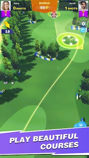 Code Triche Disc Golf Rival (Astuce) APK MOD screenshots 3