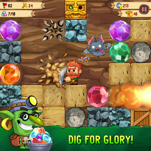 Dig Out! - Gold Digger Adventure 2.19.0 screenshots 1