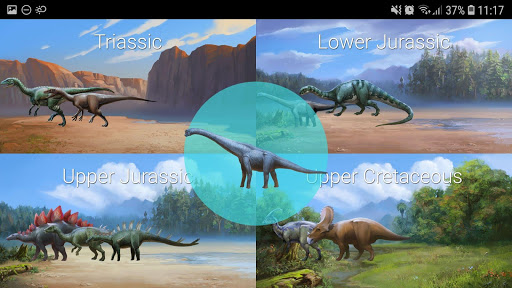 Dinosaur Master: facts, minigames and quiz 1.3.5 screenshots 5