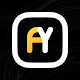 Aline Yellow icon pack - linear yellow icons