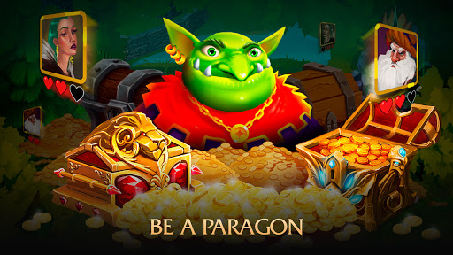 Random Clash - Epic fantasy strategy mobile games apkslow screenshots 17