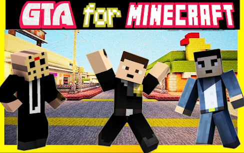 Craft Theft Auto for GTA Mcpe Apk Download 1
