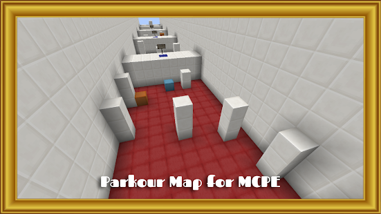 Parkour Map for MCPE