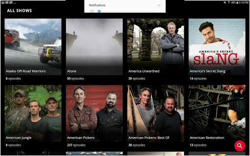 HISTORY: Watch TV Show Full Episodes & Specials 3.3.5 screenshots 11