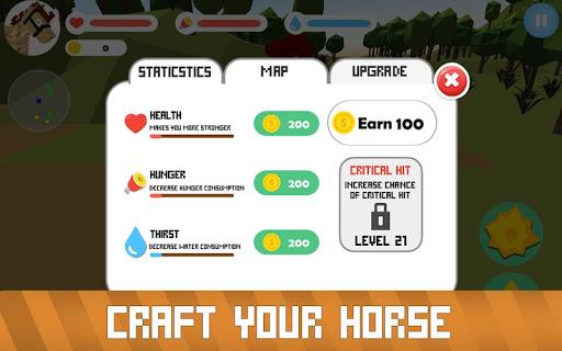 Blocky Horse Simulator 2.0 screenshots 4