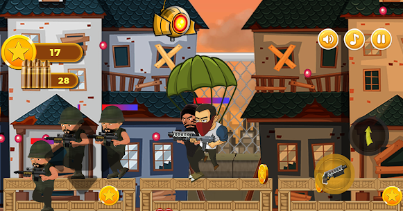 Revenge of Hero: 2D Platform Action Shooter Game For Android 3
