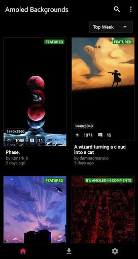 AmoledBackgrounds for reddit: Amoled Wallpapers  screenshots 1