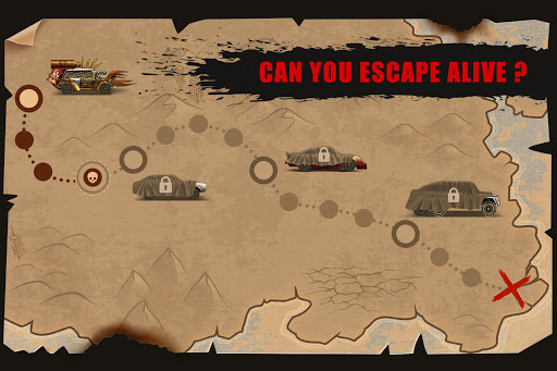 Zombie Hill Racing - Earn To Climb: Zombie Games android2mod screenshots 5