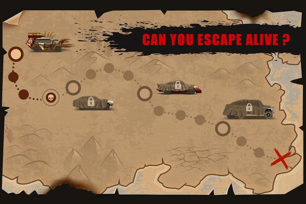 Zombie Hill Racing - Earn To Climb: Zombie Games poster 4