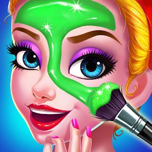 Princess Beauty Salon  Birthday Party Makeup