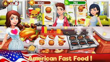 Cooking Kitchen Chef - Restaurant Food Girls Games