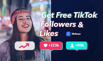 screenshot of Get TikTok followers & Tik like & fans - TikFame
