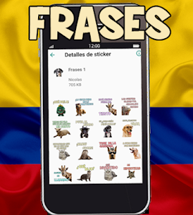 Stickers Colombia Screenshot