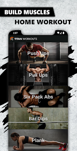 Titan – Muscle Booster, Home Workout, Six Pack Abs 3.2.5 Apk 1