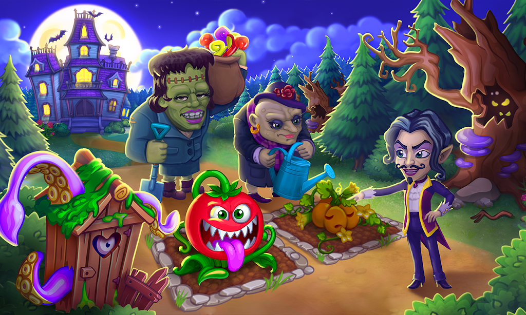 Monster Farm - Happy Ghost Village - Witch Mansion poster 4