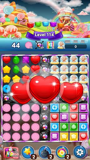 Télécharger Gratuit My Jelly Bear Story: New candy puzzle apk mod screenshots 1