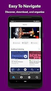 Stitcher - Podcast Player Screenshot