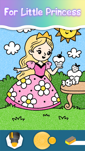 Coloring pages for little princesses  screenshots 9