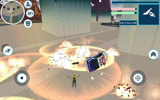 Superheroes Battleground modiapk screenshots 1