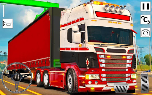 Euro Truck Driver 3D: Top Driving Game 2020 screenshots 1