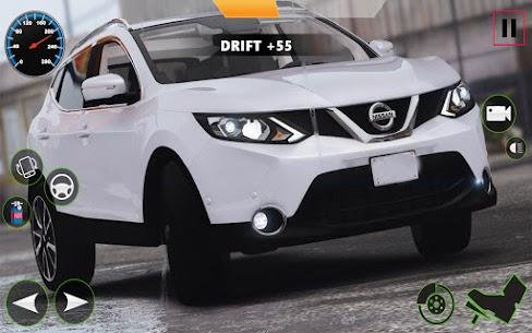 Araba Simülatörü 2021 : Qashqai Drift ve sürücü Apk İndir 2
