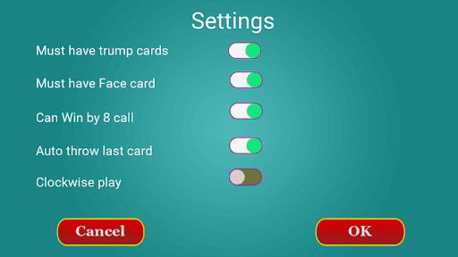 Call break : Offline Card Game 3.7 screenshots 6