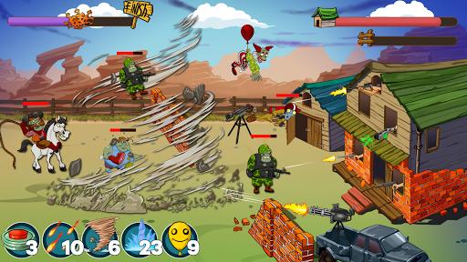 Code Triche Zombie Ranch. Zombie jeux de tir (Astuce) APK MOD screenshots 4