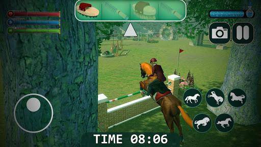horse simulator 2021 - wild horse games free screenshot 3