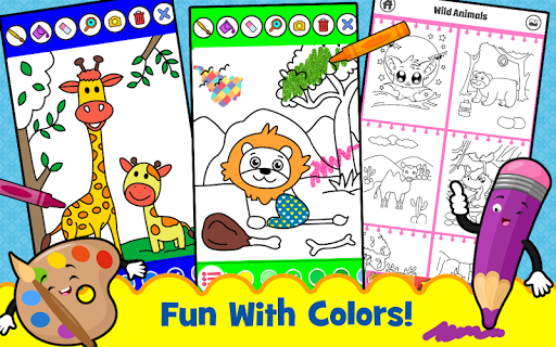 Animal Sounds for babies & Coloring book for kids 1.20 screenshots 2