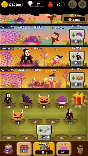 DungeonMon : Idle Merge Monster  screenshots 6