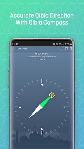 Qibla Finder, Prayer Times, Quran, Azan, Tasbeeh modavailable screenshots 3