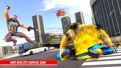 Rope Hero Man: Spider Miami City Gangster  screenshots 1