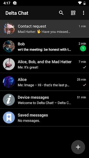 Delta Chat 1.14.4 Screenshots 1