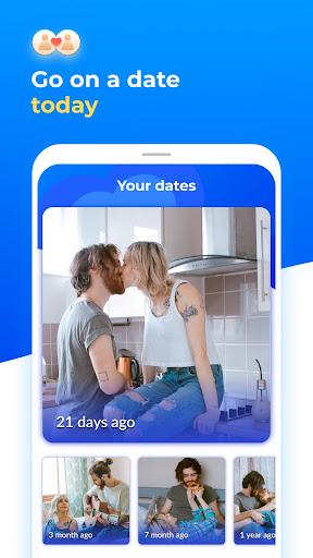 Dating with singles nearby - iHappy apktram screenshots 2