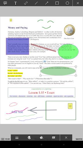 PDF Plugin - Moon+ Reader  Screenshots 2