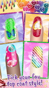 Nail Salon - Design Art Manicure Game 1.4 Screenshots 2