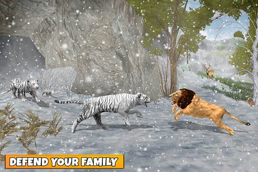 Snow Tiger Family apkmr screenshots 3