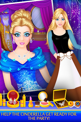 Cinderella Beauty Makeover : Princess Salon 1.8 screenshots 1