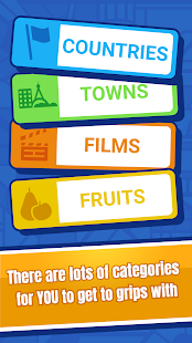 Categories - Word Game for two players screenshots 3
