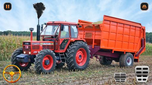 Supreme tractor farming - modern farm games 2021  screenshots 6