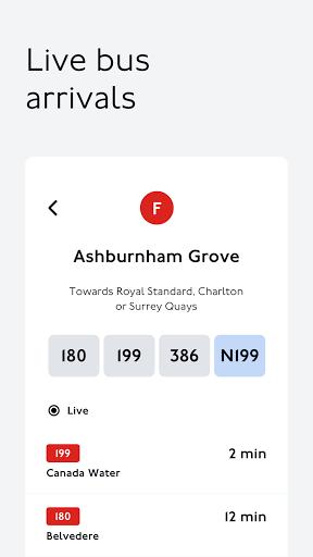 TfL Go: Live Tube, Bus & Rail android2mod screenshots 6