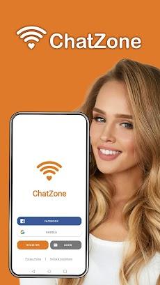 ChatZone - シングル用のチャットアプリのおすすめ画像1