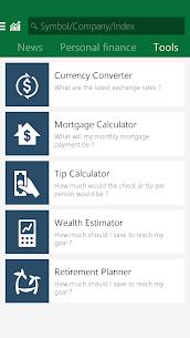 MSN Money- Stock Quotes & News 5