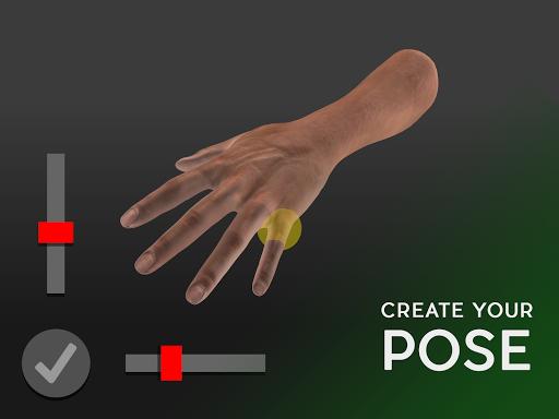 Hand Draw 3D Pose Tool FREE 2.18 Screenshots 1