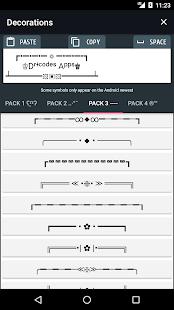 Cool text, symbols, letters, emojis, nicknames 5.0.2 Screenshots 5