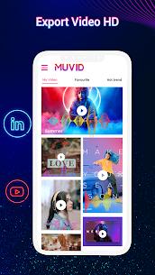 Muvid Music Video Maker v2.3 MOD APK [Unlocked All]Download 5